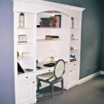 smart master bedrooms with built-in desk