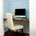 small master bedrooms with built-in desk
