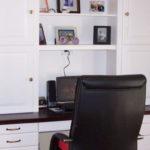 best master bedrooms with built-in desk