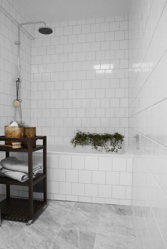 white bathroom pinterest