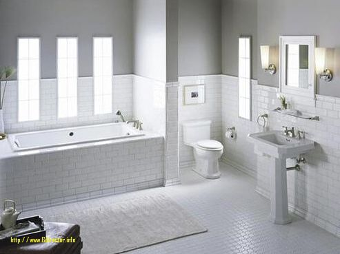best white bathroom