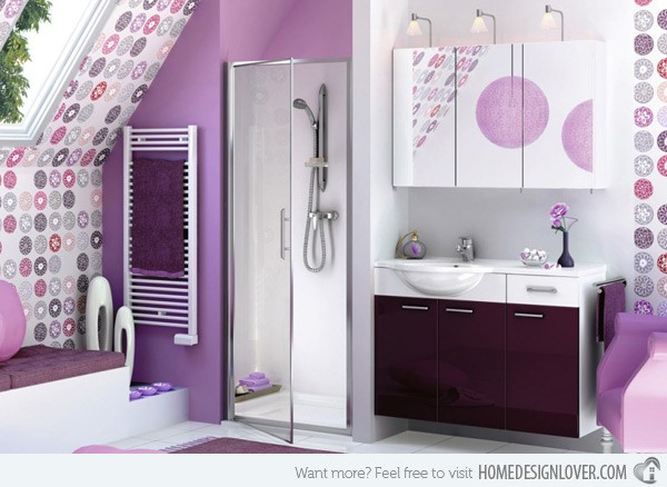 cool lavender bathroom ideas