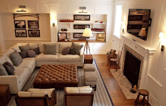 living rooms with TVs ideas