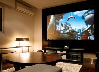 living rooms with TVs pinterest