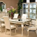 mirrored dining room table pinterest