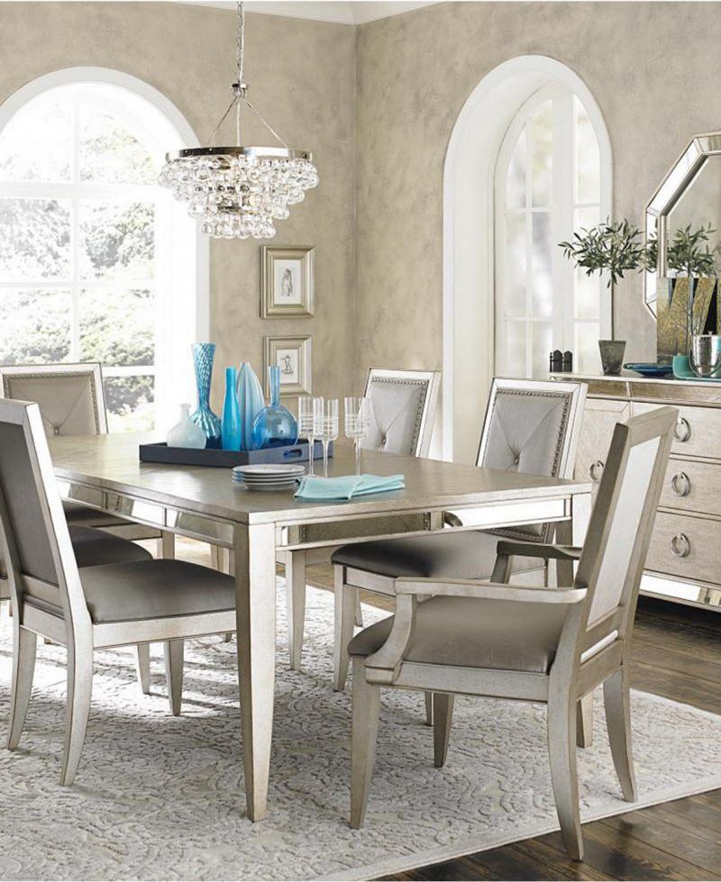 25+ Mirrored Dining Room Table | Decor Or Design