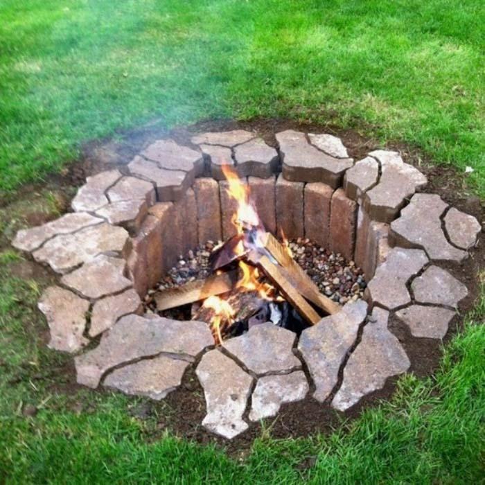 3 Diy Backyard Fire Pits Ideas Easy