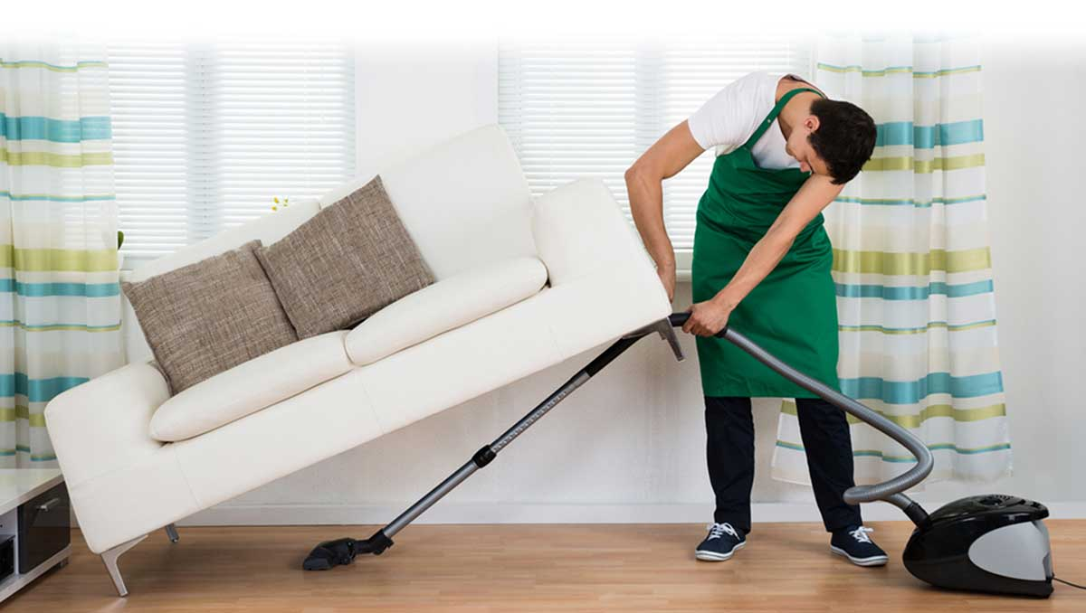 living room cleaning checklist